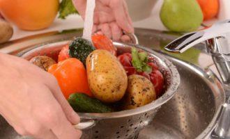Подготовка овощей для варки, жарения или тушения
