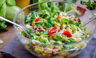 Весенние салаты на скорую руку